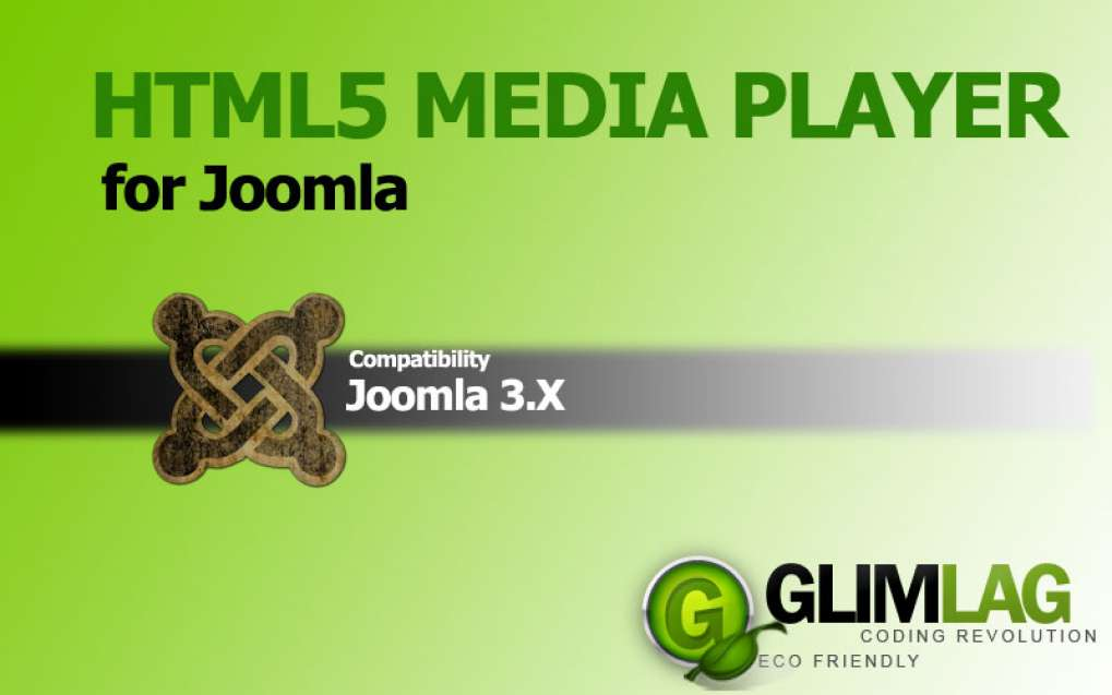 HTML5 Media Player for Joomla