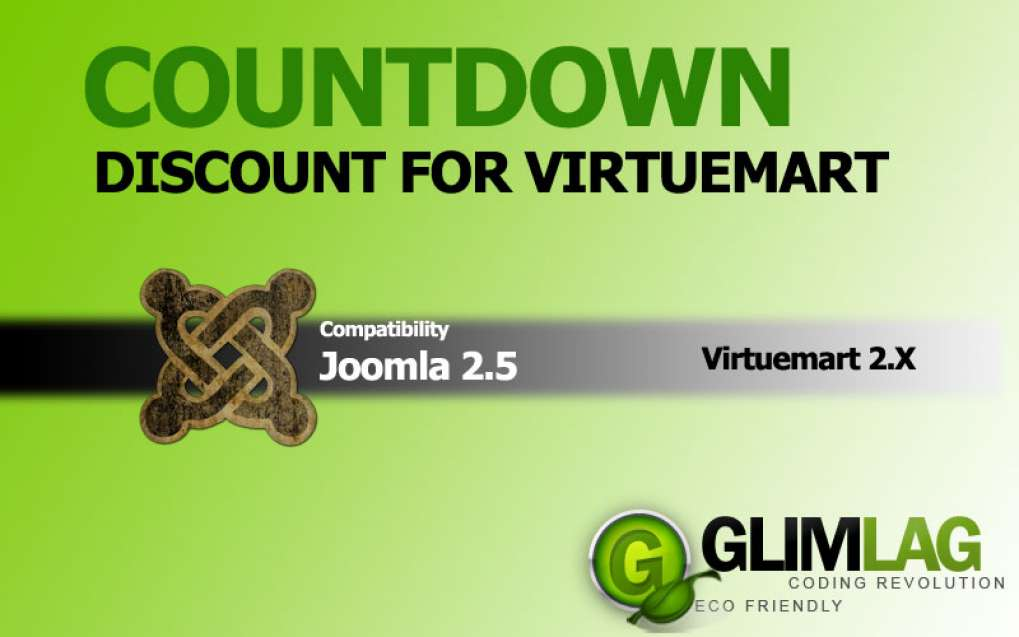CountDown Discount for Virtuemart