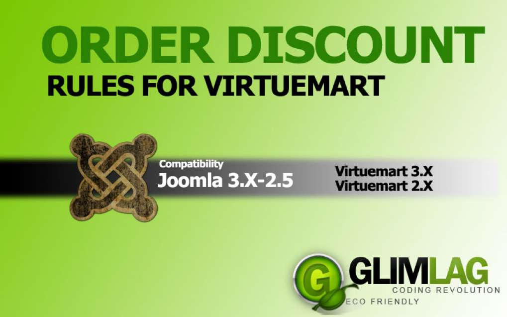 Order Discount Rules for Virtuemart