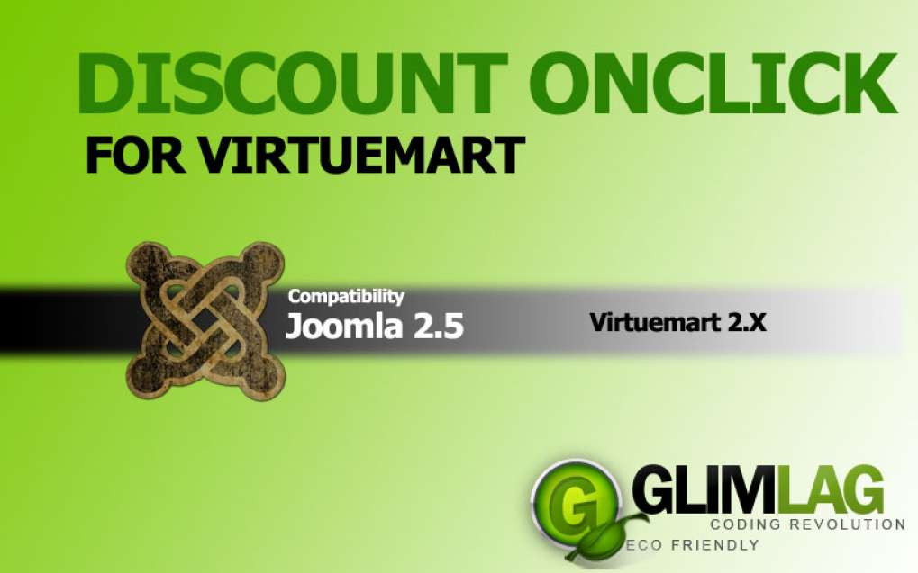 Discount OnClick for Virtuemart