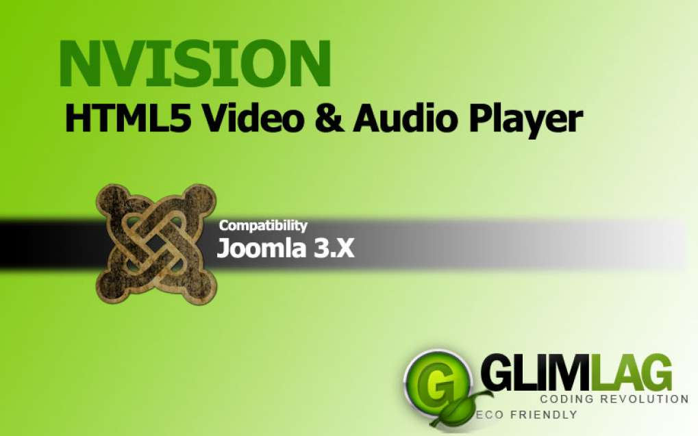 NVision HTML5 player for Joomla